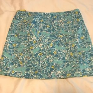 Lilly Pulitzer size 8 reversible skirt